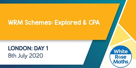 WRM Schemes: Explored! & CPA (London Day 1)  KS3/KS4 tickets