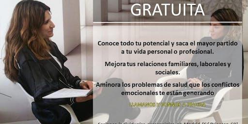 Sesión gratuita de Coaching en MADRID-Previa cita