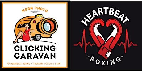 Clicking Caravan @ Heartbeat Boxing tickets
