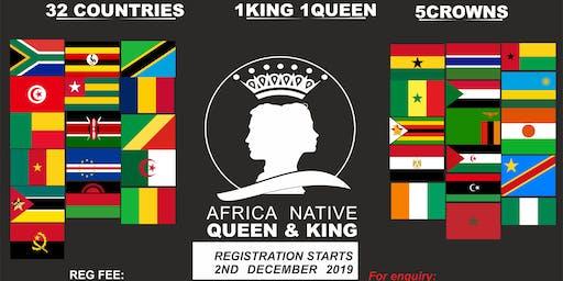 AFRICA NATIVE QUEEN/KING