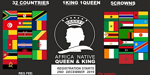 AFRICA NATIVE QUEEN/KING