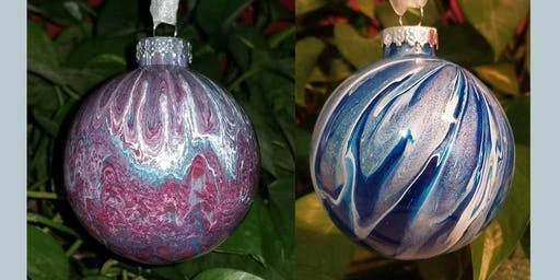 Glass Ornament Paint Class