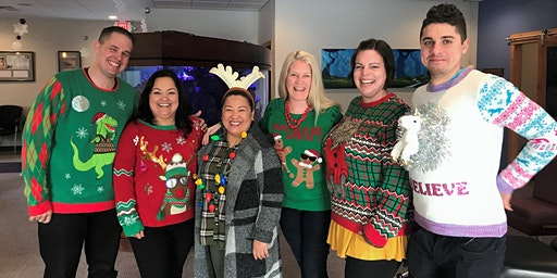 UGLY Sweater |Wyss Family Clinic | Chirstmas Edition