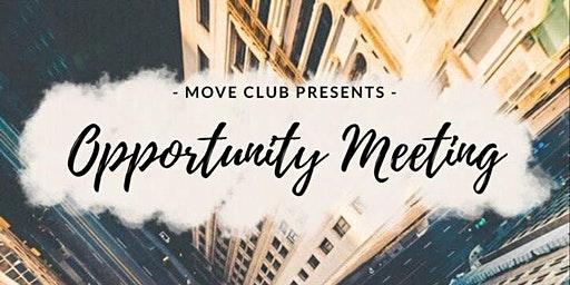 Opportunity Meeting - Make It Happen