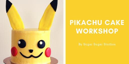 Cake Decorating: Pikachu Cake Workshop