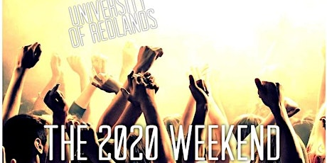 The 2020 Weekend tickets