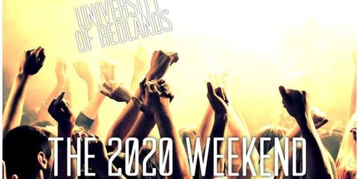 The 2020 Weekend