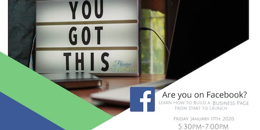 Are You On Facebook? - Learn how to build a business page