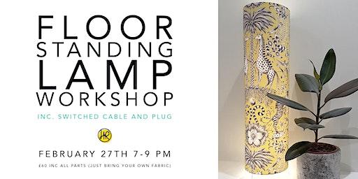 FLOOR STANDING LAMP Workshop