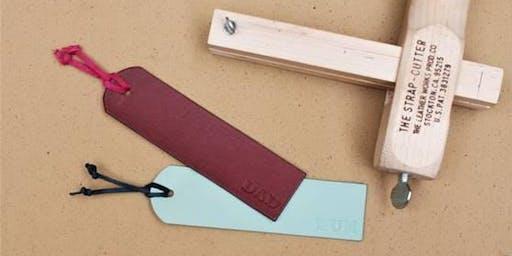 Gweithdy anrhegion lledr   Chrismas leather gifts workshop