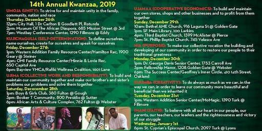 Kwanzaa, 2019 -2020