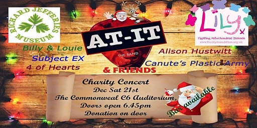 At-It and friends Christmas charity gig (Live local bands)