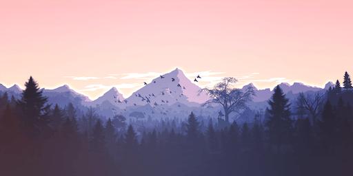 L'action se déroule à la montagne