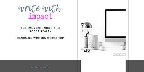 Write with Impact Workshop tickets
