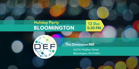 DEF Bloomington Holiday Party tickets