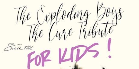 ESPECIAL THE CURE FOR KIDS CON THE EXPLODING BOYS EN VALENCIA:16 TONELADAS entradas