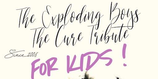 ESPECIAL THE CURE FOR KIDS CON THE EXPLODING BOYS EN VALENCIA:16 TONELADAS