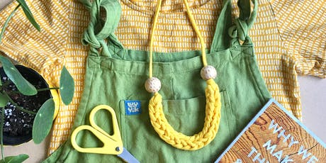 Upcycled Woven Jewellery at The Peppercorn tickets