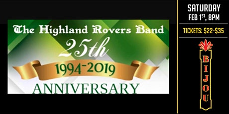 Highland Rovers Band tickets