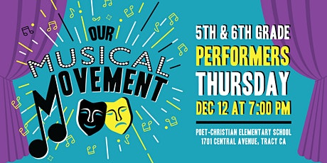 Our MUSICAL MOVEMENT tickets