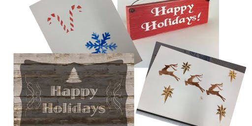 Make a Wooden Holiday Sign