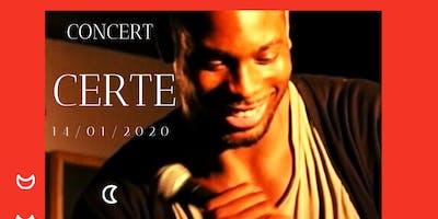 Certe Mathurin en Concert