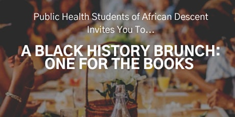 A Black History Month Brunch: One for the Books tickets
