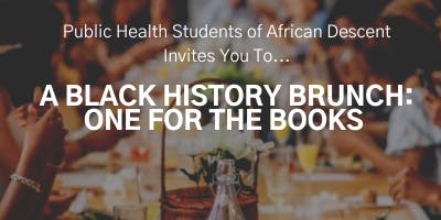 A Black History Month Brunch: One for the Books