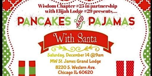 Pancakes and Pajamas With Santa