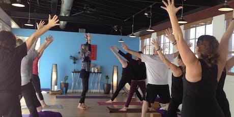 Top Floor Women December Yoga Class tickets