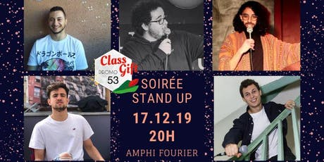 Stand Up Night- Class Gift 53 billets