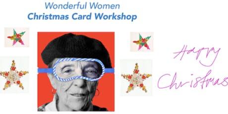 An Alternative Christmas Card Workshop - Celebrating Wonderful Women tickets