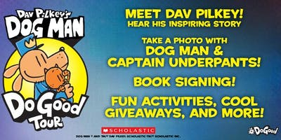 Dav Pilkey's Dog Man Do Good Tour (Mount Gravatt, QLD)