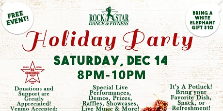Rock Star Dance & Fitness Holiday Party! tickets