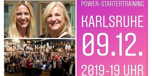 Power-Startertraining Karlsruhe  09.12.2019 - 19 Uhr