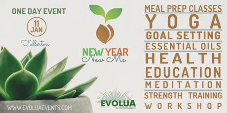 New Year, New Me - 1 Day Wellness Event tickets