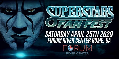 The Icon Sting  @ Superstars of Wrestling  Rome GA tickets