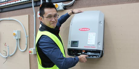 Fronius, installation, commissioning and monitoring setup workshop tickets