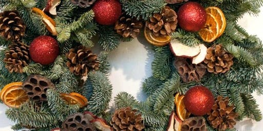 Pop-Up Event: Decorate A Fresh Christmas Fir Wreath with Alyssa!