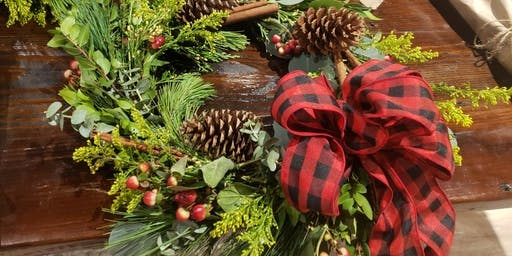 Wreath and Terrarium Workshop Sip, Laugh and Enjoy the moment!