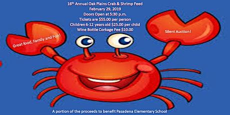 Oak Plains Masonic Lodge Crab & Shrimp Feed tickets
