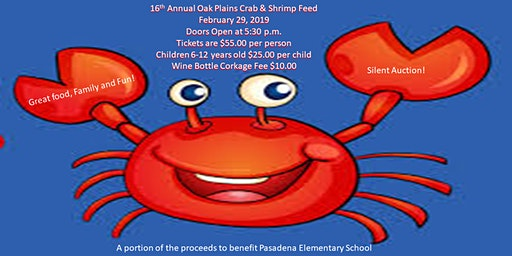 Oak Plains Masonic Lodge Crab & Shrimp Feed