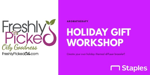 Aromatherapy Holiday Gift Workshop