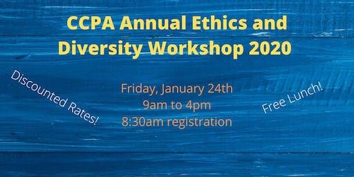 CCPA's Annual Diversity & Ethics Workshop