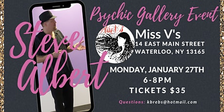 Steven Albert: Psychic Gallery Event - MissVs 1/27 tickets