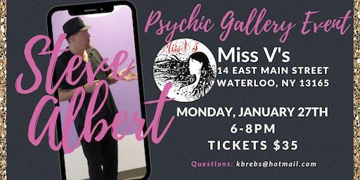 Steven Albert: Psychic Gallery Event - MissVs 1/27