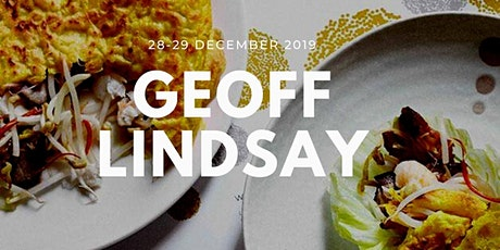 Lunch with Geoff Lindsay including cooking class, lunch & wines tickets