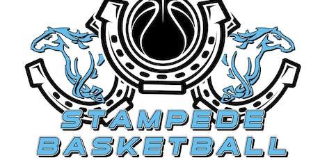 Boys Stampede Winter AAU Basketball 3rd-6th Grade Membership Fee 2020 tickets