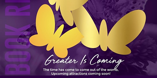 Greater Is Coming Book Signing