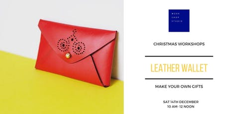 Leather Workshop - Make Your Own Coin/Wallet tickets